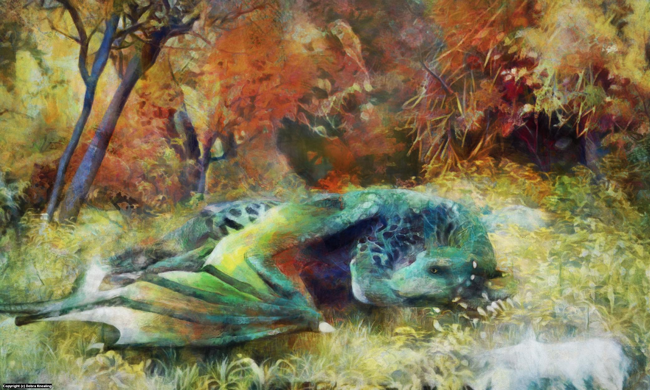 Dragorella Artwork by Debra Knealing