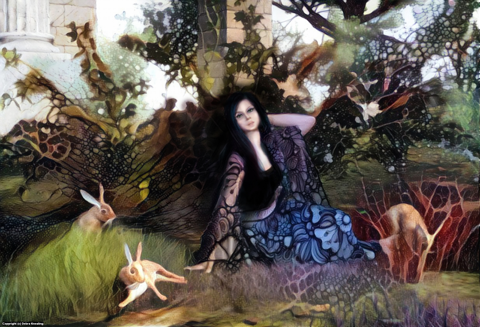 Eostre Artwork by Debra Knealing
