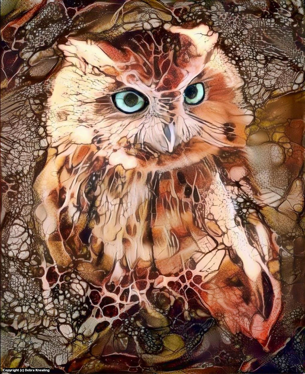 Howl Artwork by Debra Knealing