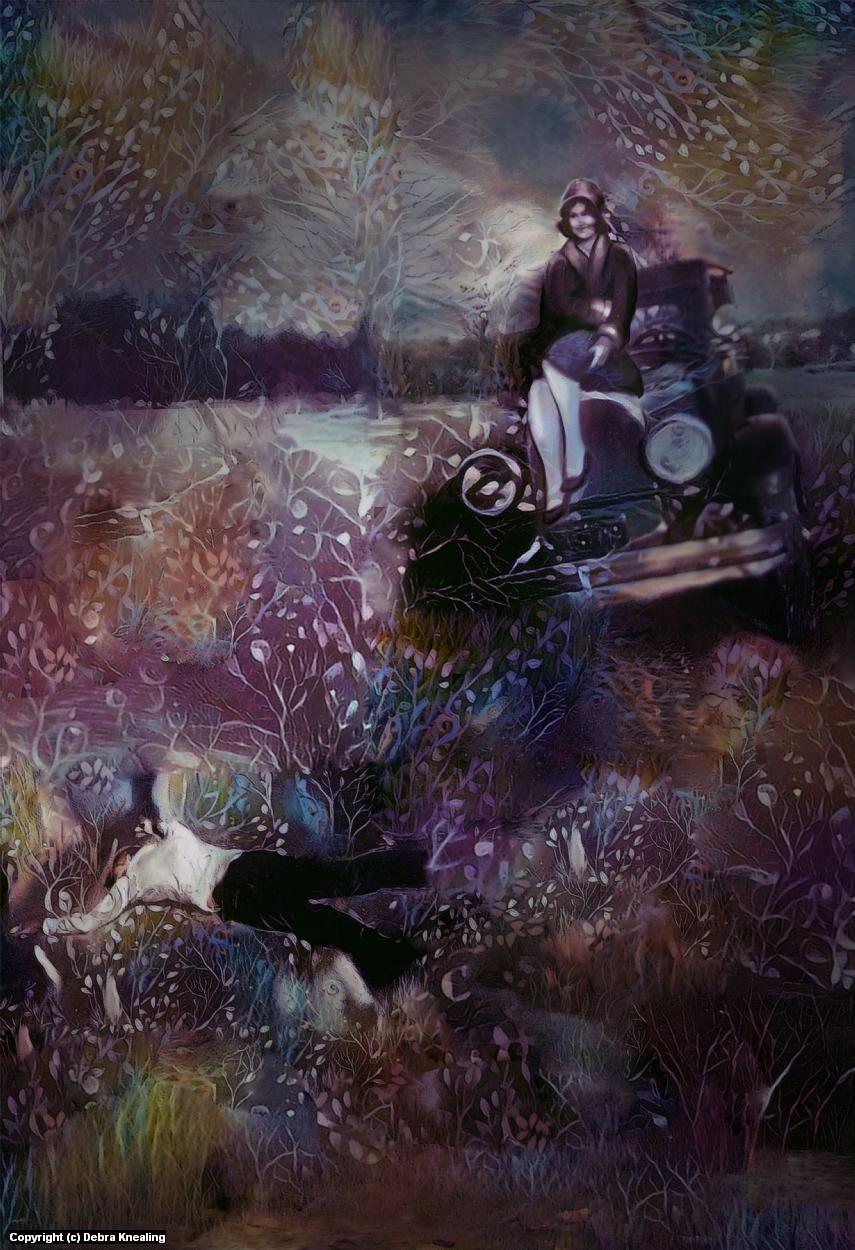I've Got the Wedding Blues, Bill. Artwork by Debra Knealing