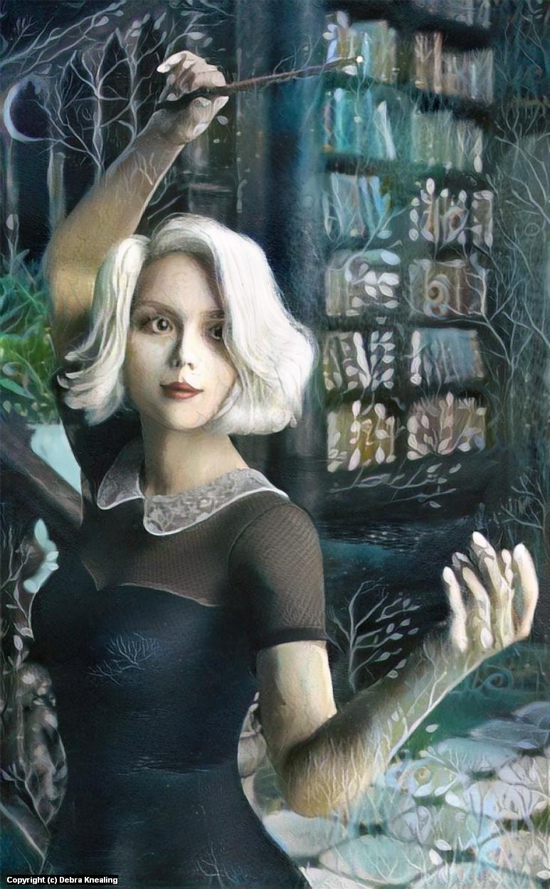 Sabrina Artwork by Debra Knealing