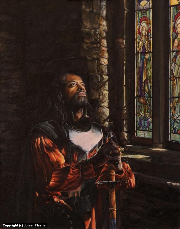 St. George - Devotion Artwork by Joleen Flasher