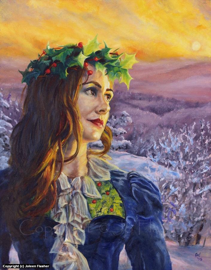 Solstice Eve Artwork by Joleen Flasher