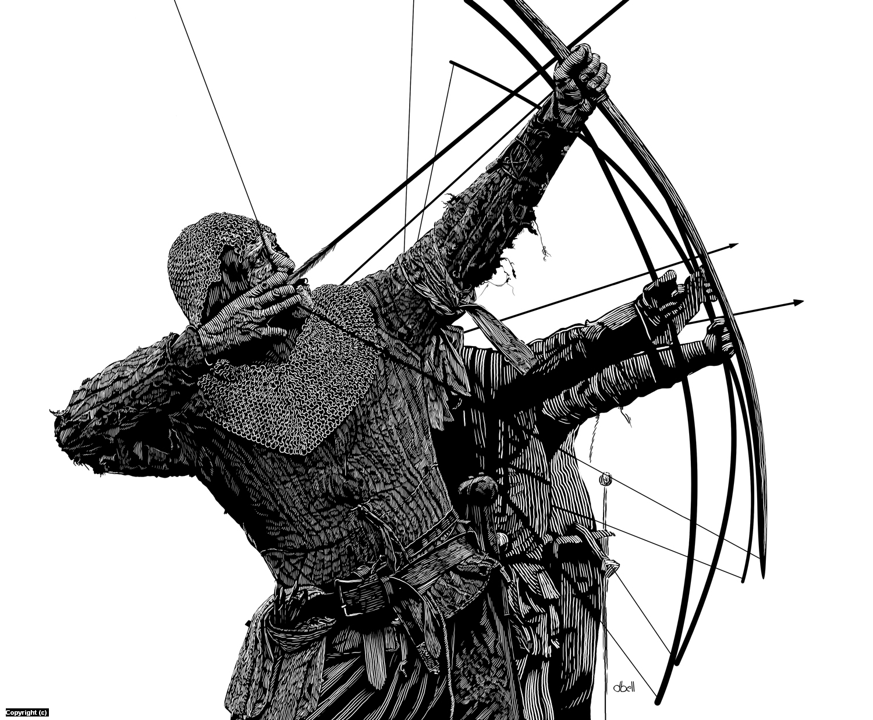 Archers 2 Artwork by Douglas Bell