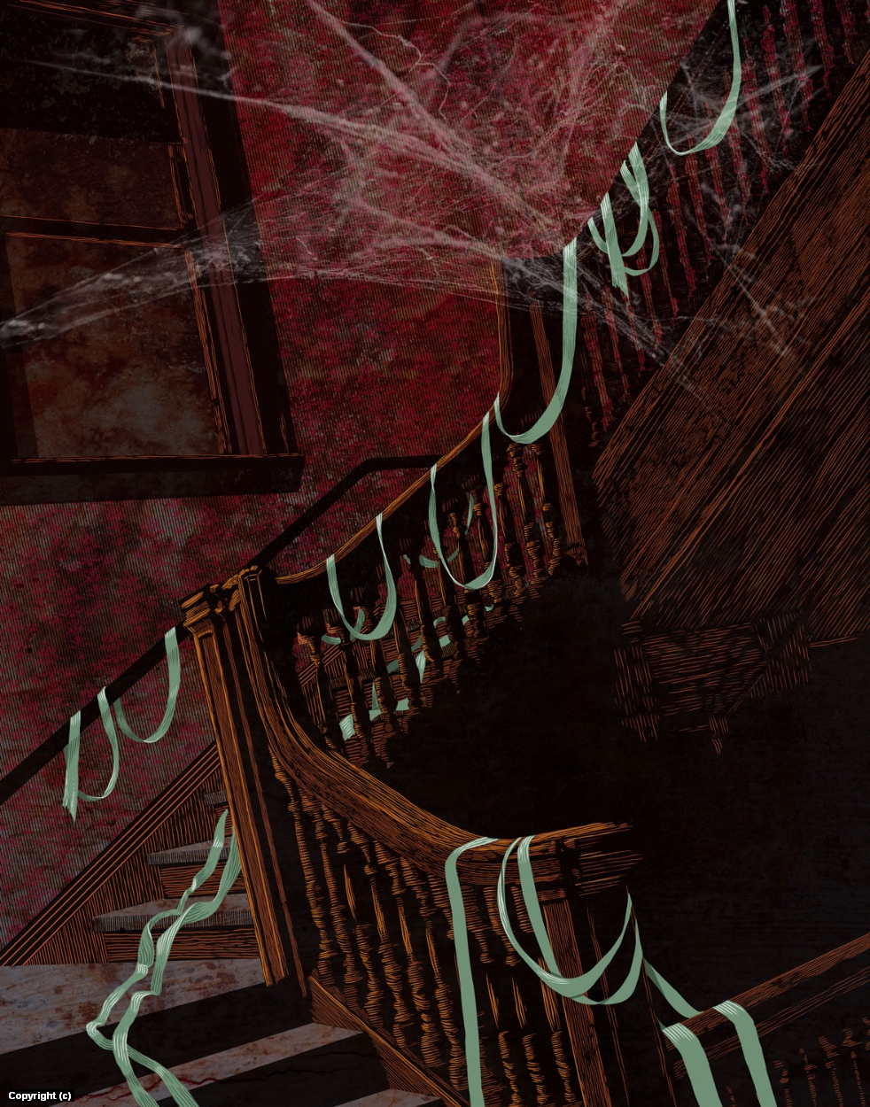 No Green Tissues Artwork by Douglas Bell