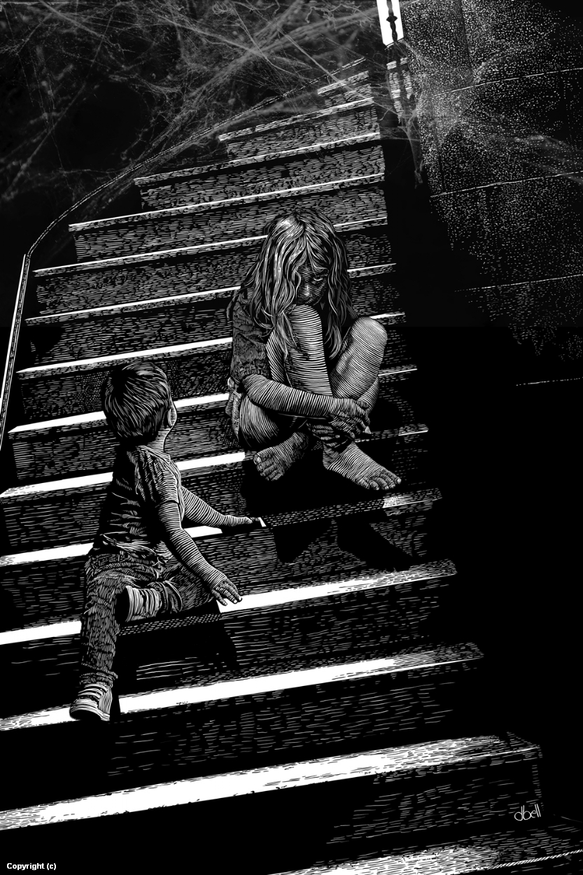 The Stairs Artwork by Douglas Bell