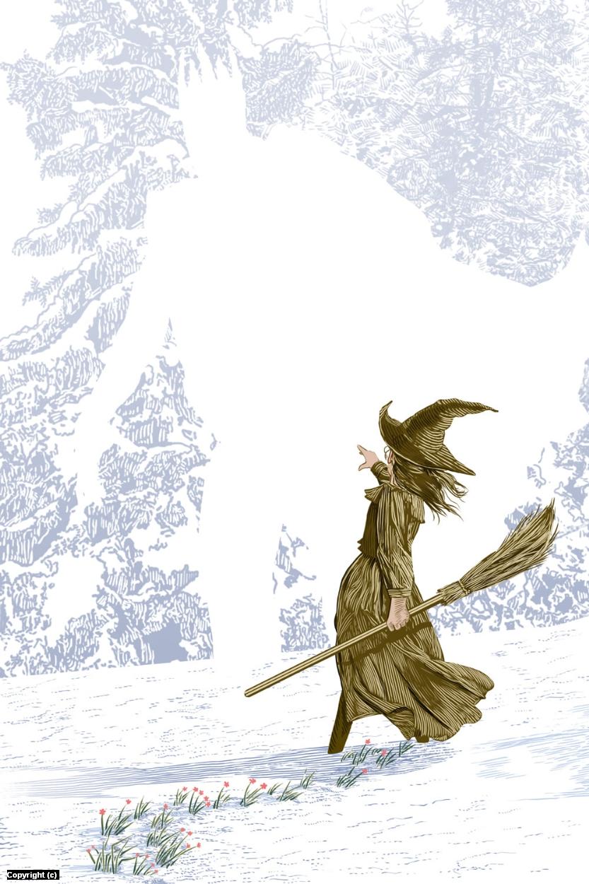 Wintersmith Artwork by Douglas Bell