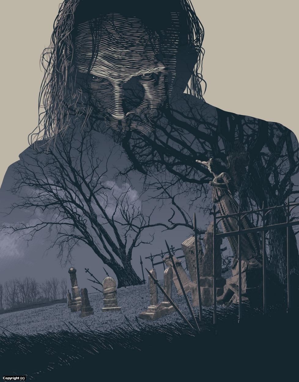 Frankenstein Artwork by Douglas Bell