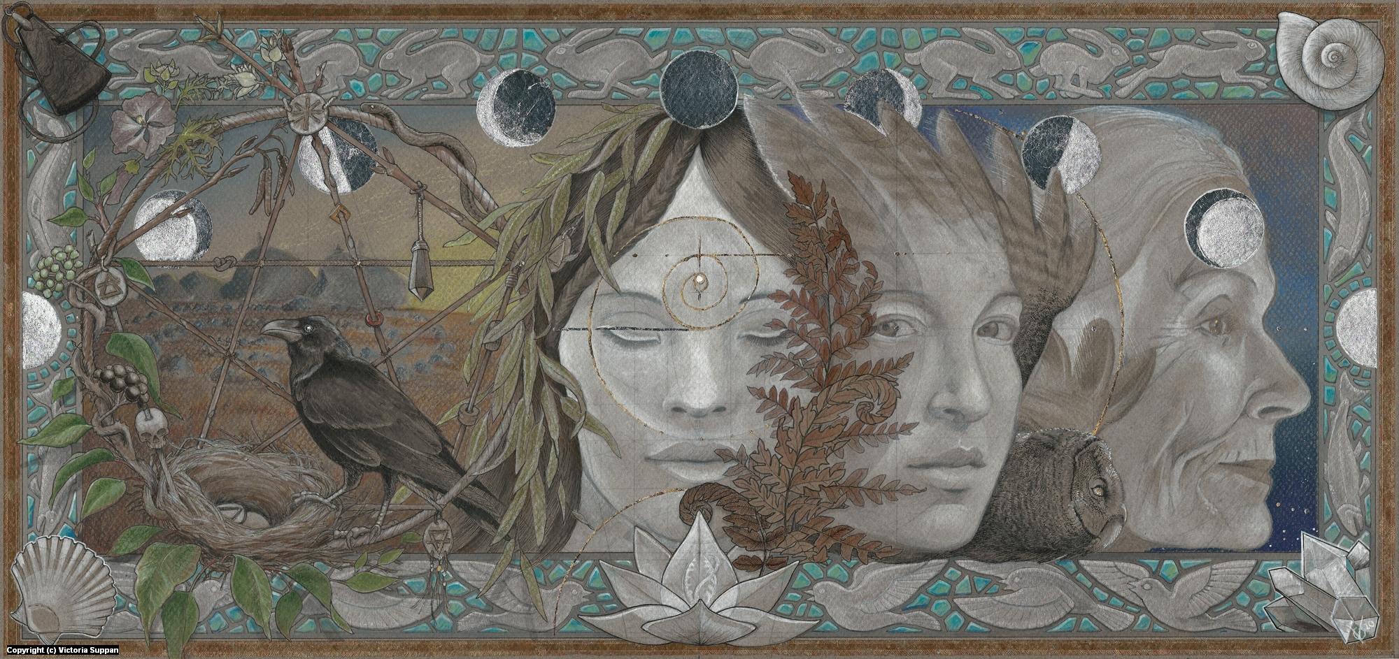 Gifts of Sacred Nature Artwork by Victoria Suppan