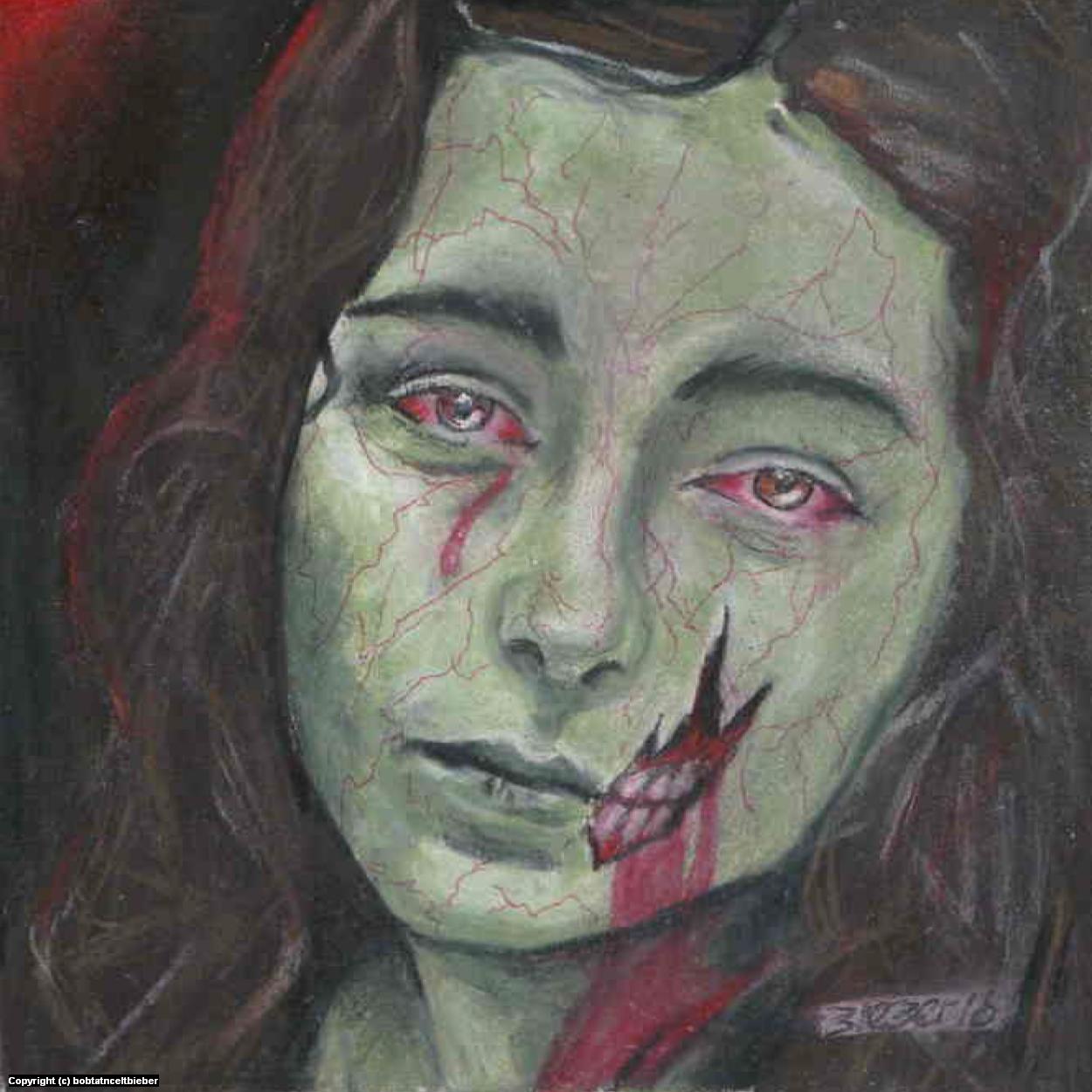The Dead Girl Artwork by Bob Bieber