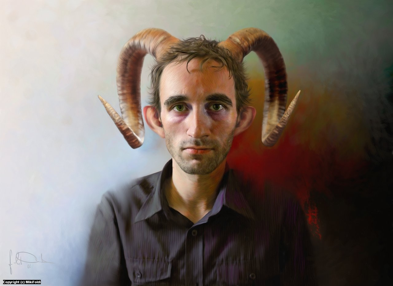 horns Artwork by Miki Foldi