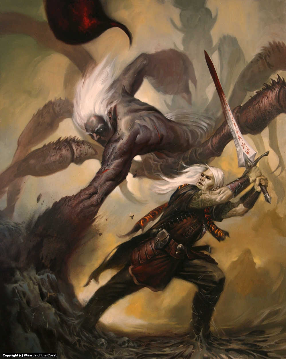 Sword of the Gods Artwork by Lucas Graciano
