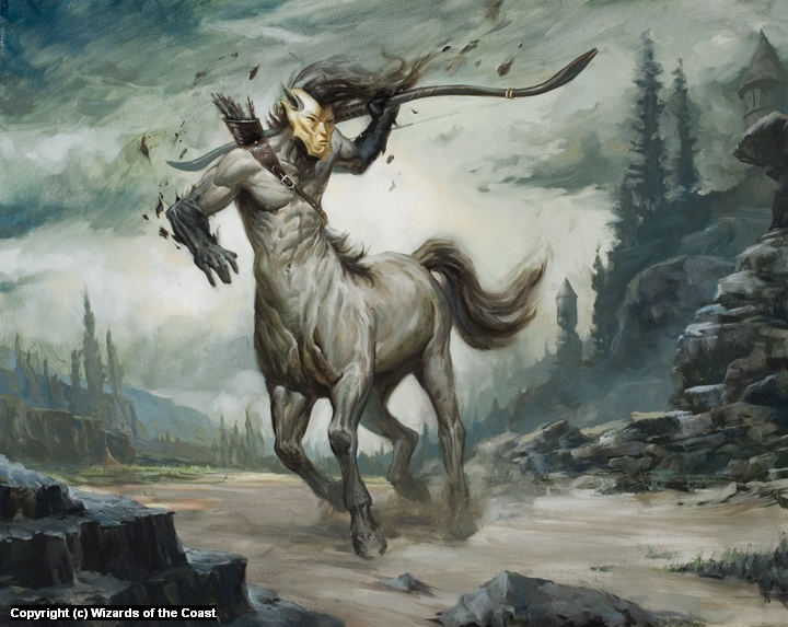 Returned Centaur Artwork by Lucas Graciano