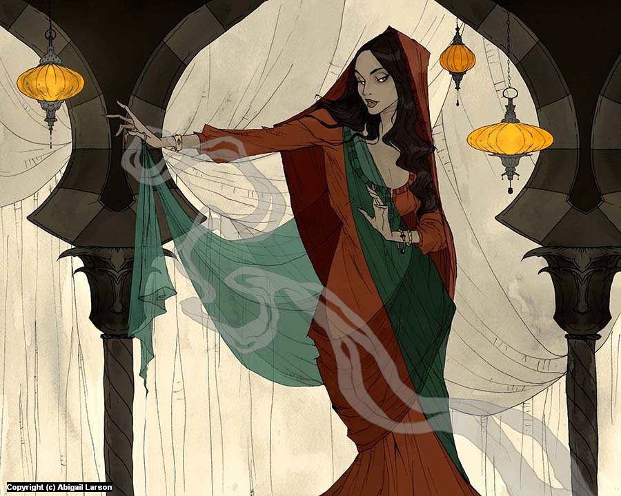 The Vizier's Daughter Artwork by Abigail Larson