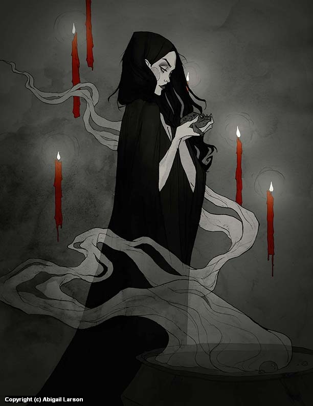 Toil and Troublw Artwork by Abigail Larson