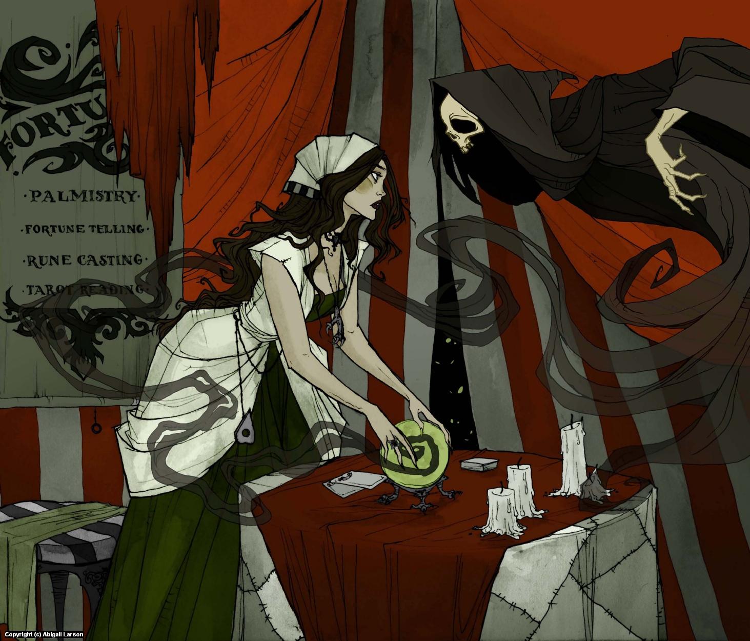 The Fortune Teller Artwork by Abigail Larson