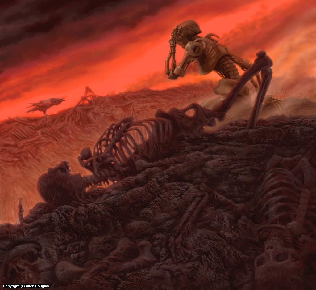 Of Metal Men... Artwork by Allen Douglas