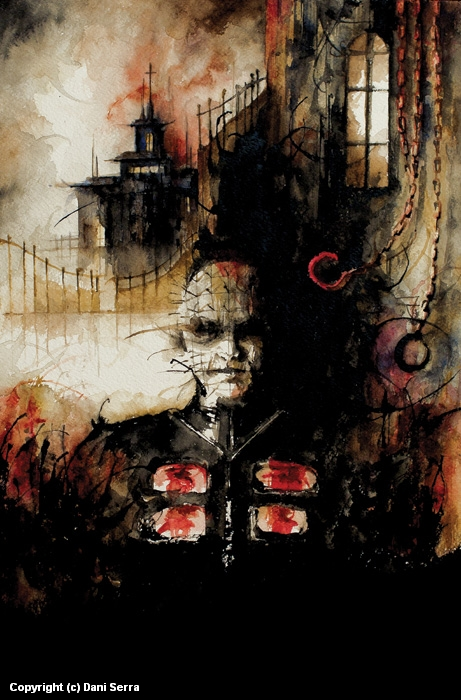 Hellraiser - Cover Artwork by Dani Serra