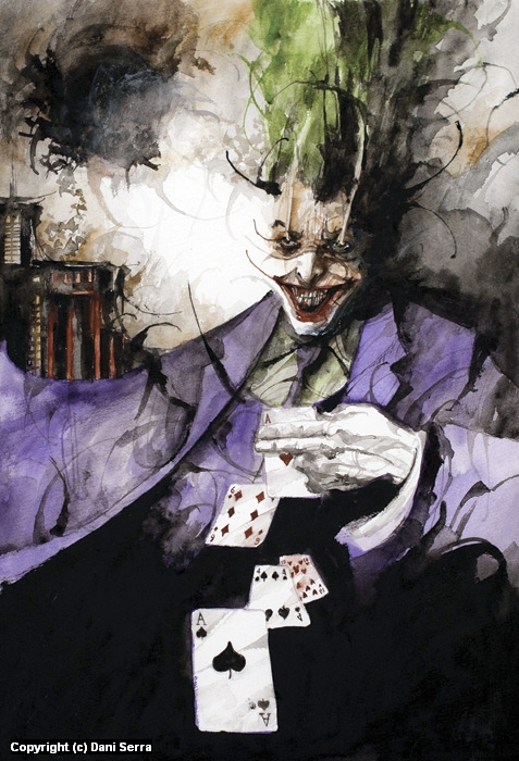 The Joker Artwork by Dani Serra