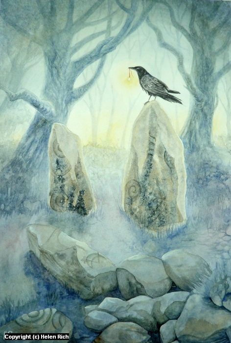 A Place Among The Stones Artwork by Helen Frost Rich