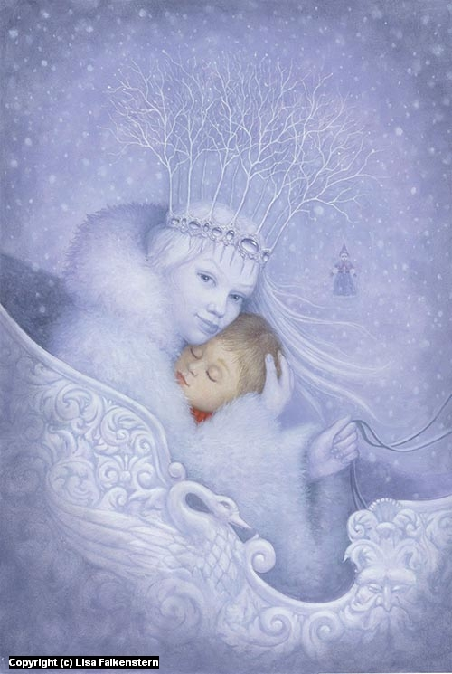 The Snow Queen Artwork by Lisa Falkenstern