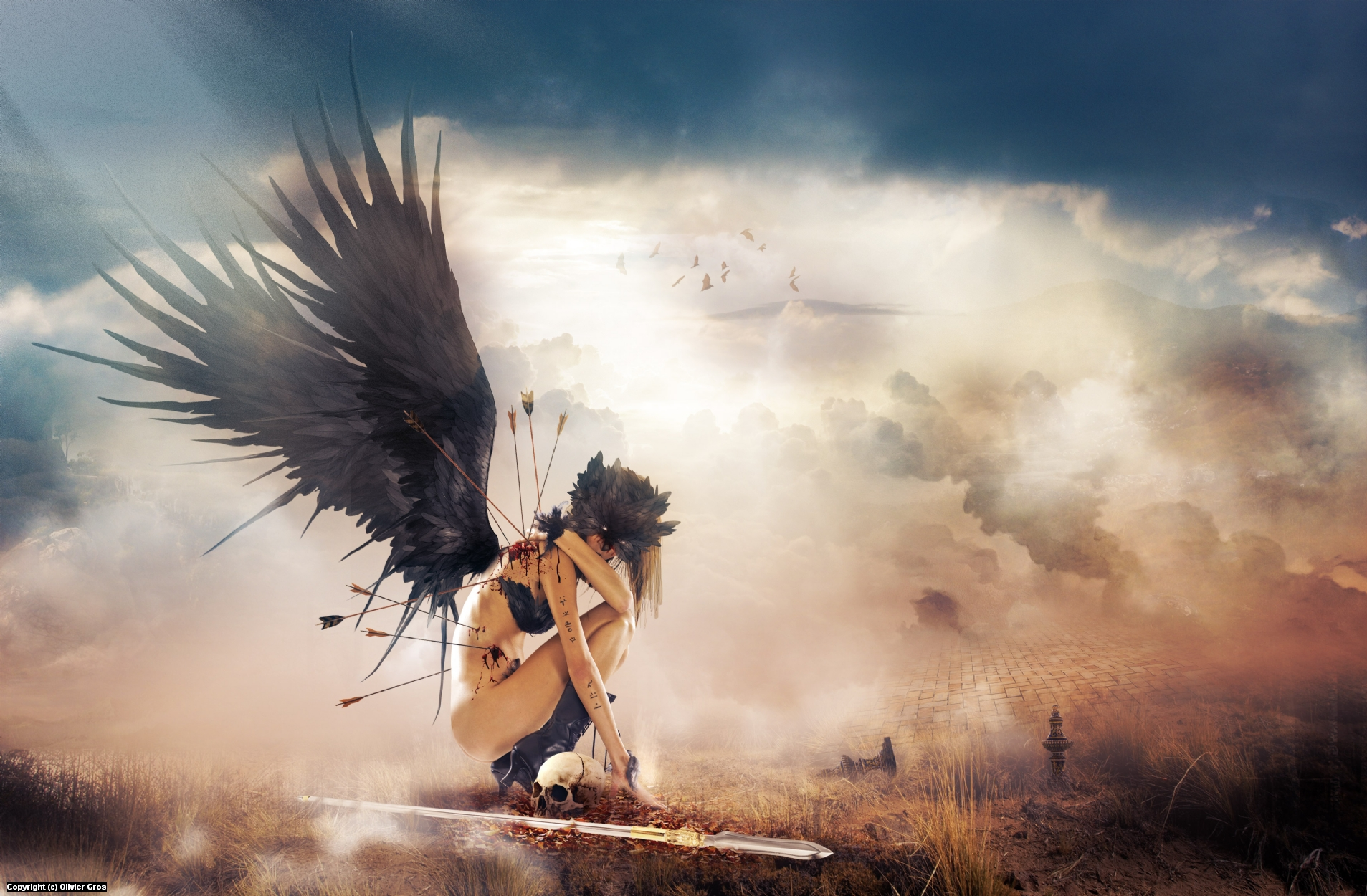Angel Artwork by Olivier Gros