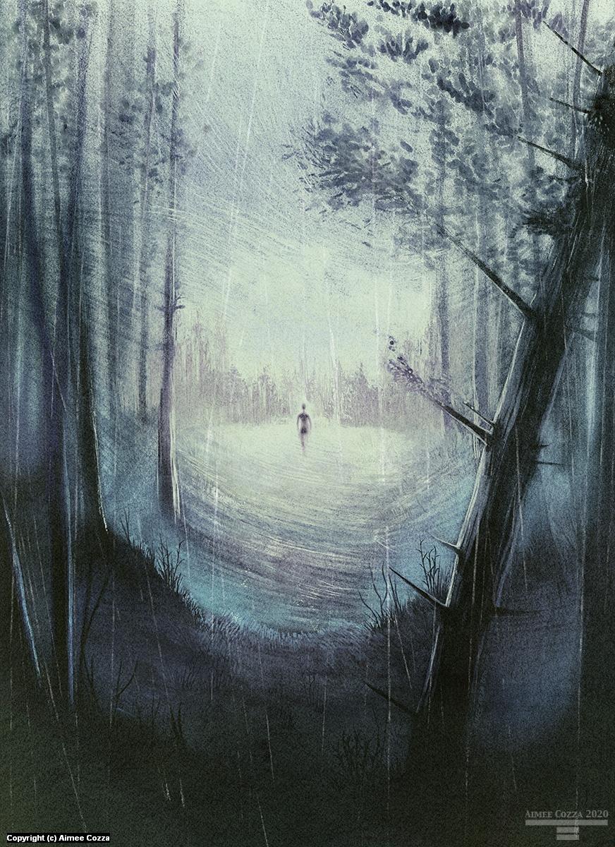 Petrichor II Artwork by Aimee Cozza