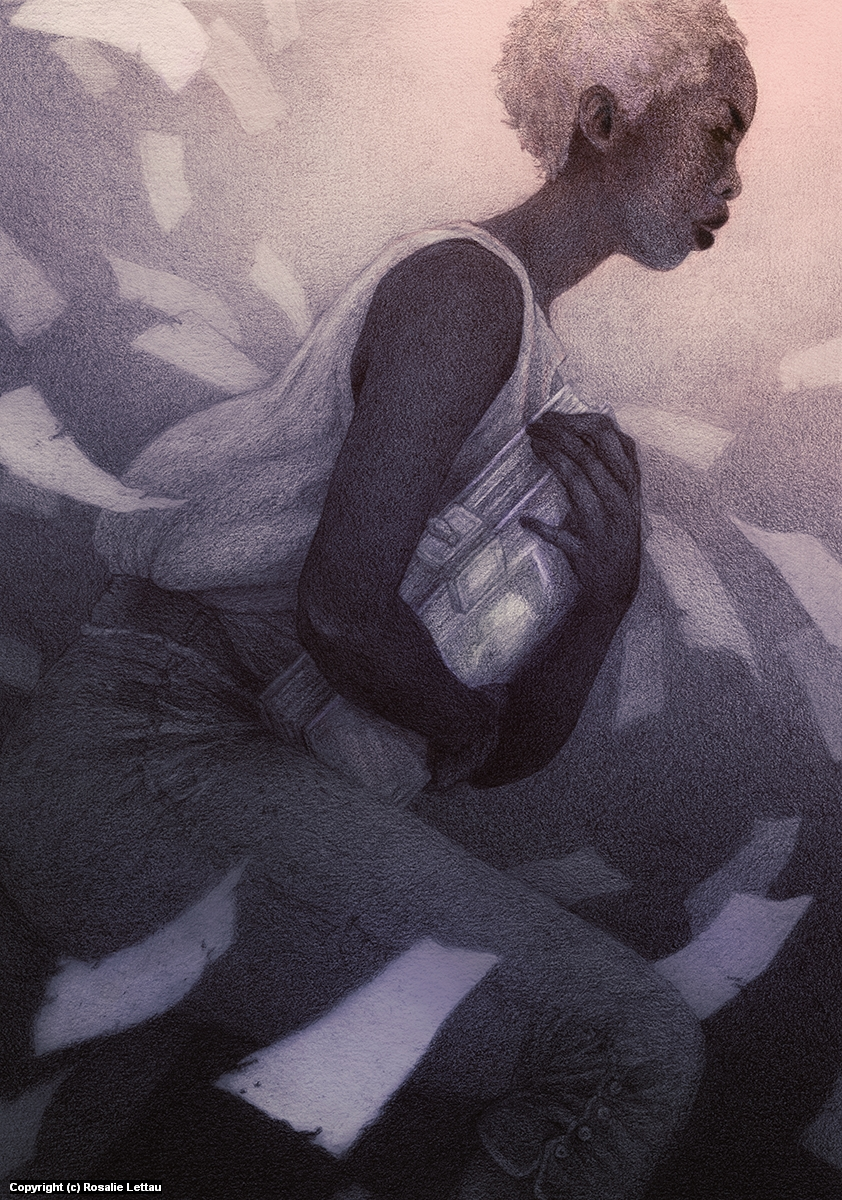 The Thief Artwork by Rosalie Lettau