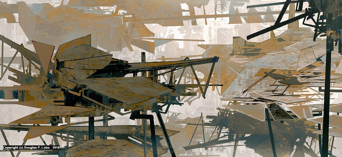 Favela Artwork by Douglas  P. Lobo