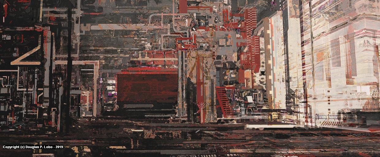 Eyepatch - Factory Artwork by Douglas  P. Lobo