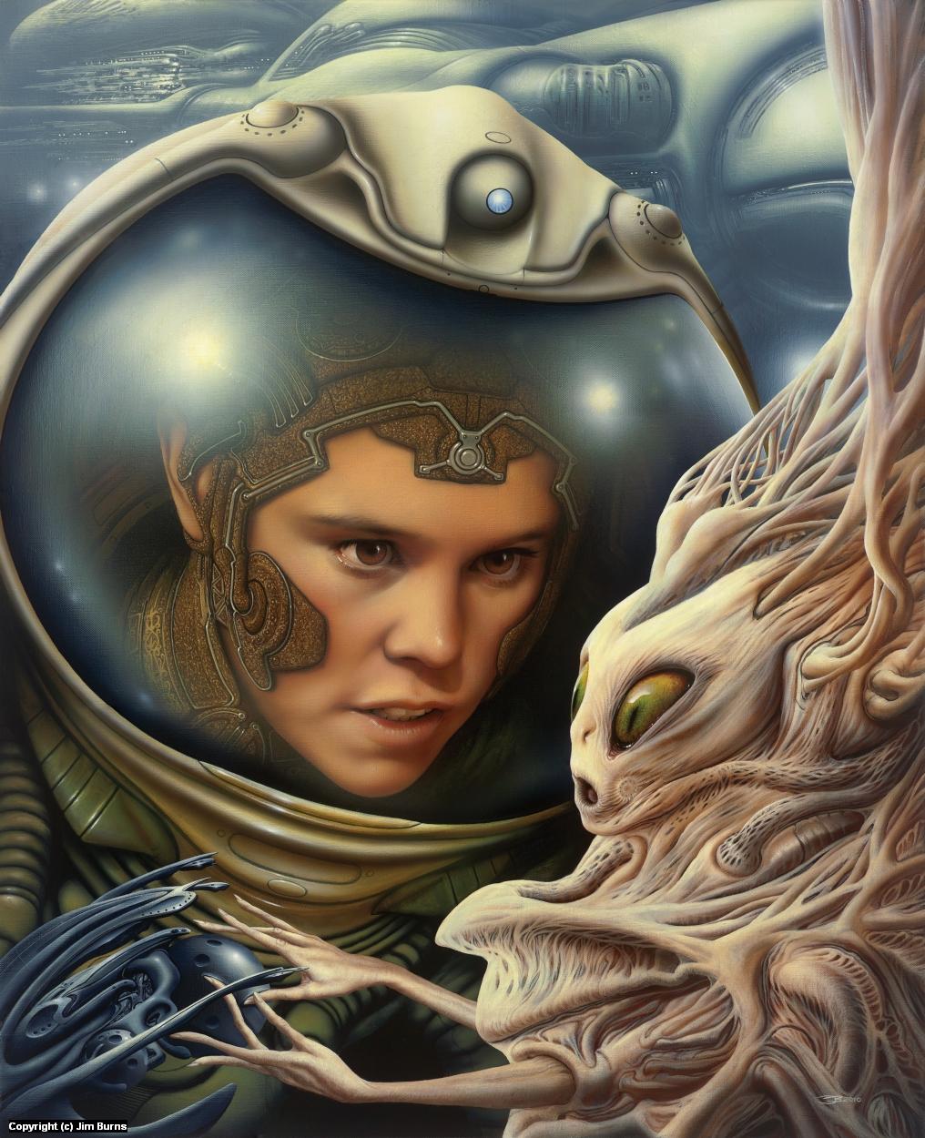 'Tertiary Node' Artwork by Jim Burns