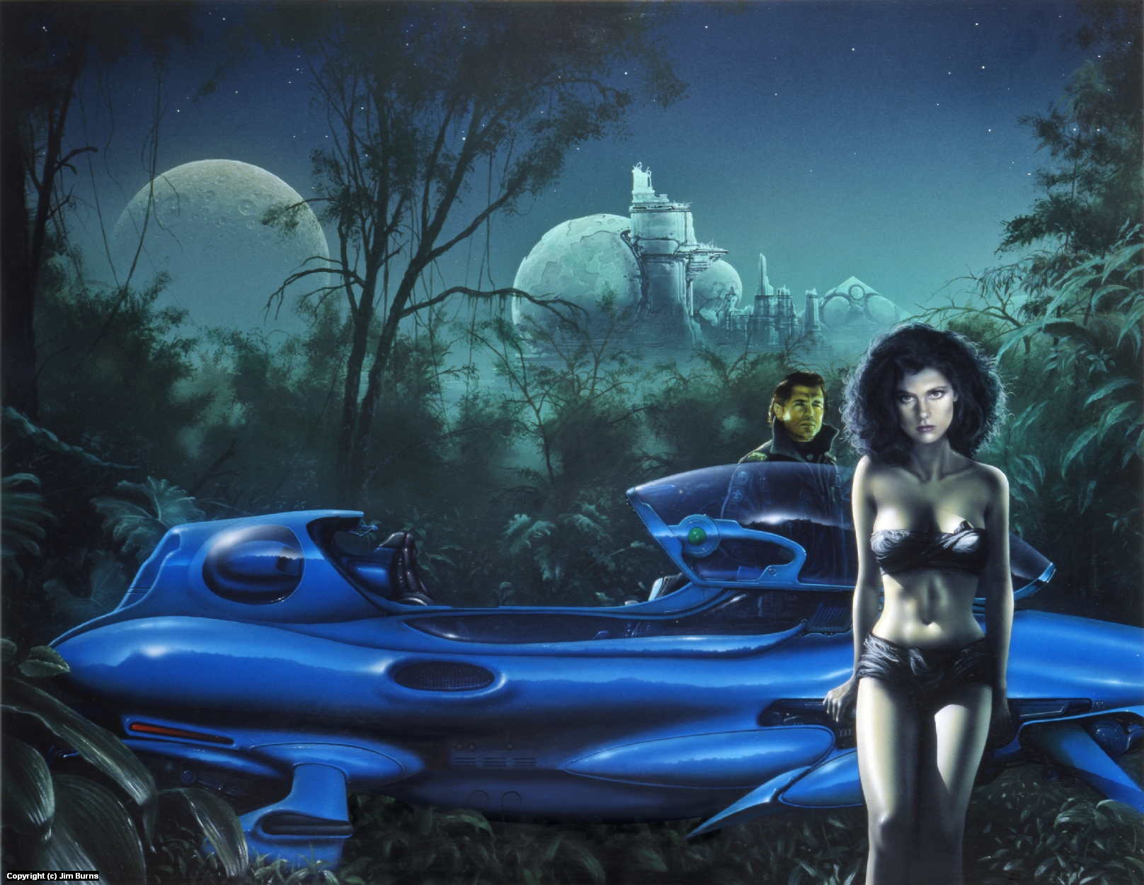 'The Lovers' Artwork by Jim Burns
