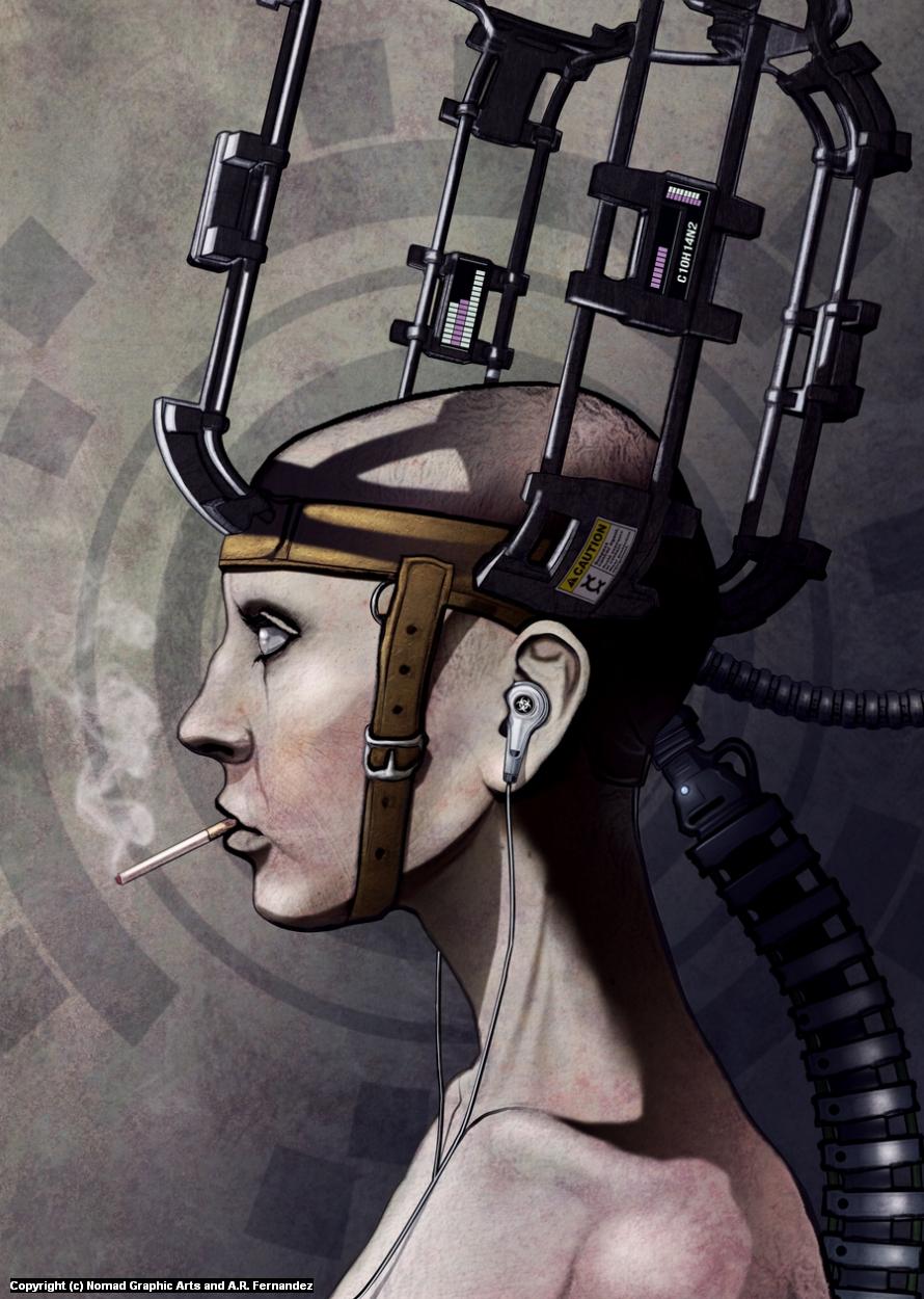Zombiefication Artwork by Antonio Fernandez