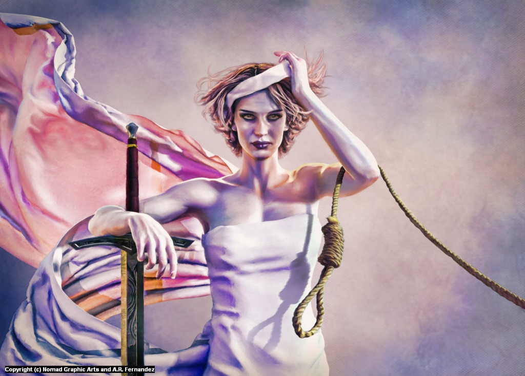 Resolute Justice Artwork by Antonio Fernandez