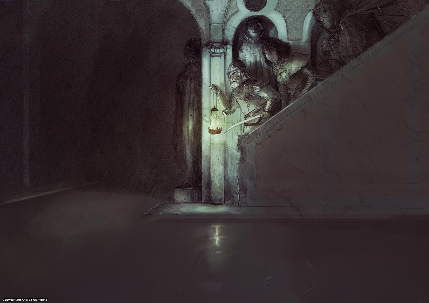 go deep Artwork by Andrea Alemanno