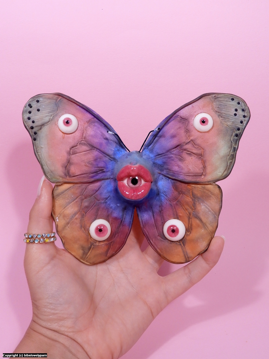 Butterfl'eye Artwork by bibs lovelypam
