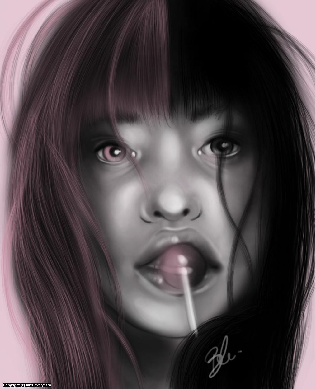 Lollipop Artwork by bibs lovelypam