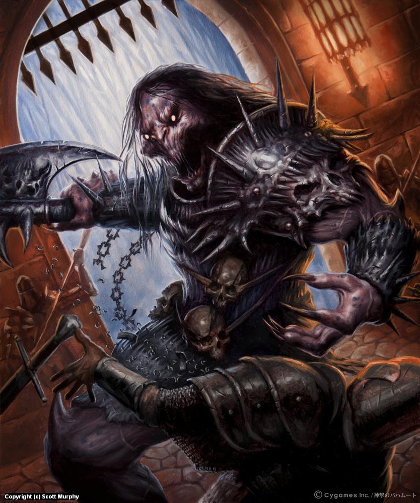 Grendel 4 Artwork by Scott Murphy