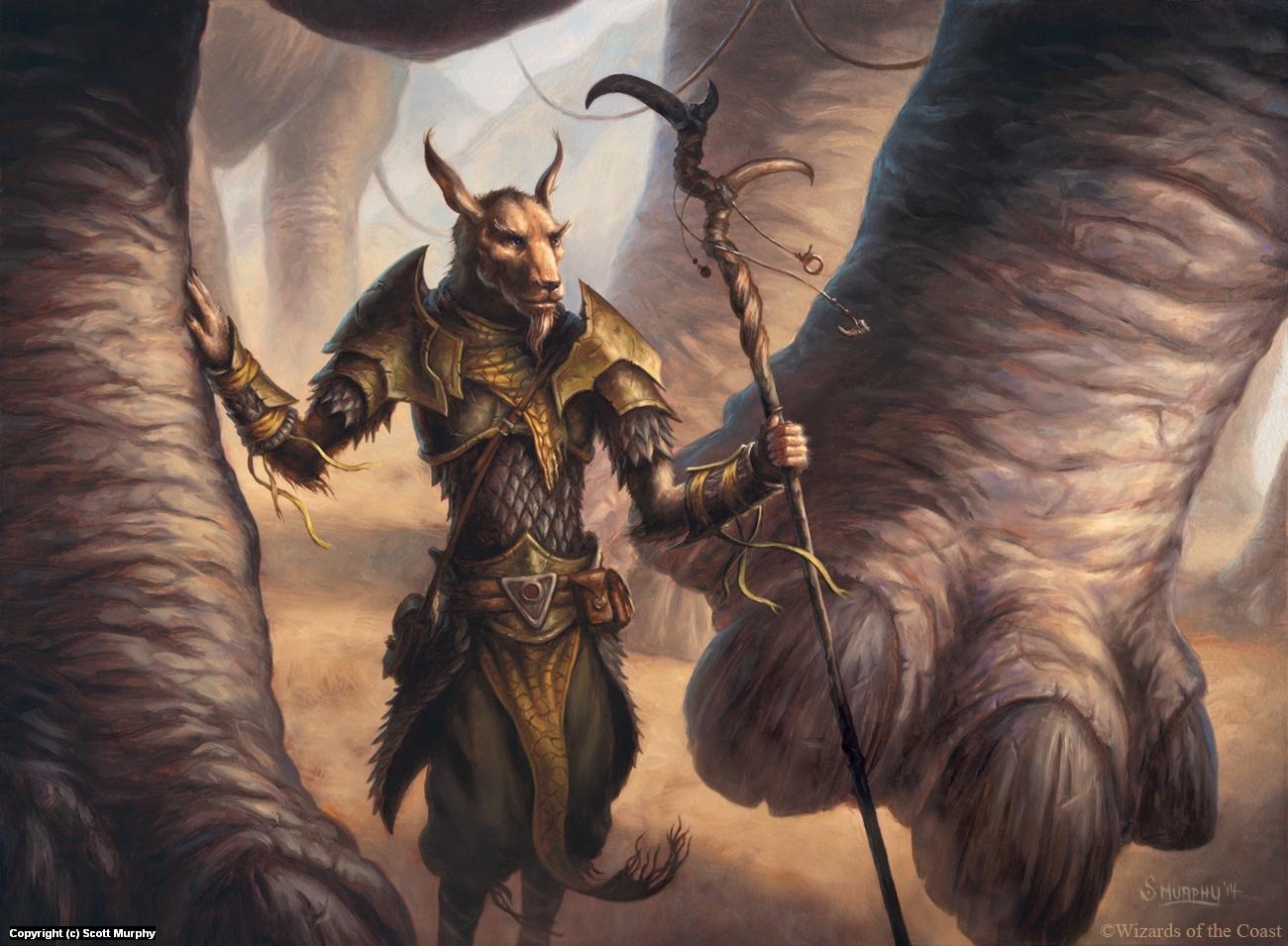 Abzan Beastmaster Artwork by Scott Murphy
