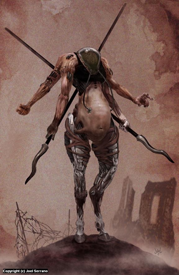 Flesh & Metal  Artwork by Joel Serrano