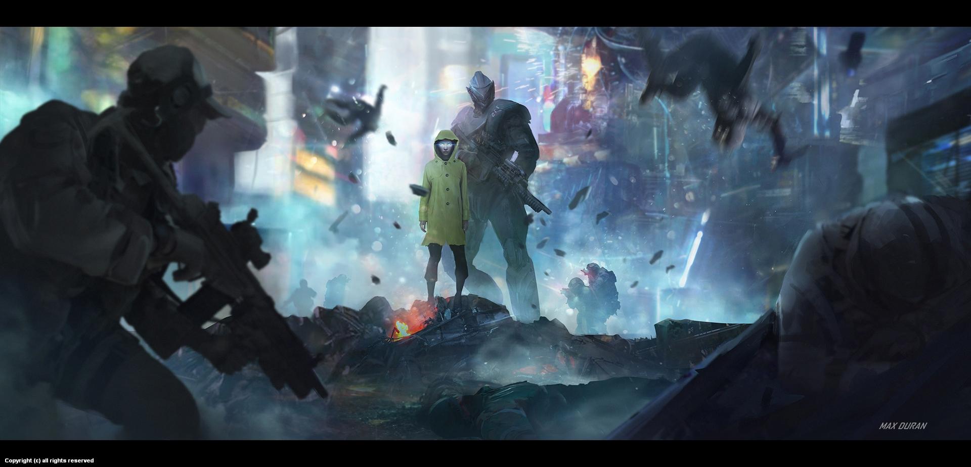 Beyond Human - Keyframe  Artwork by Max Duran