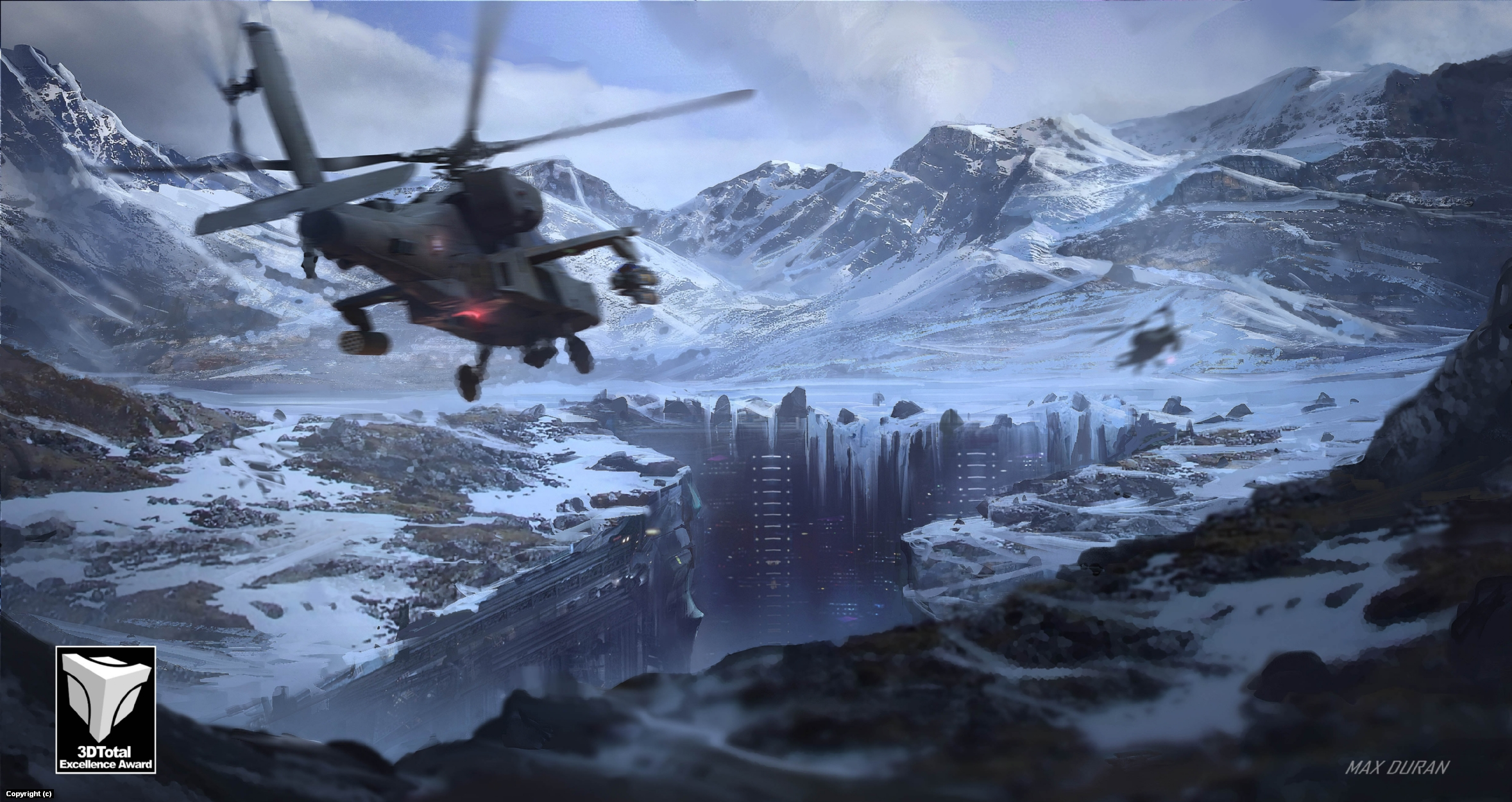 Mountains seacret Base Artwork by Max Duran