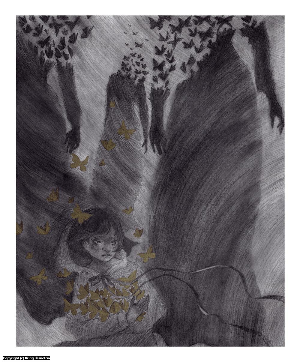 Butterflies From Moths Artwork by Kring Demetrio