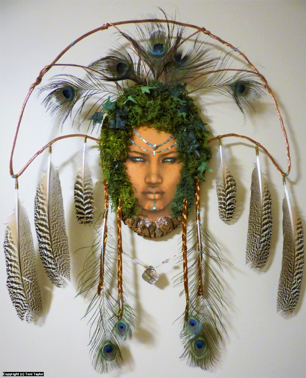 Dryad Queen Artwork by Toni Taylor
