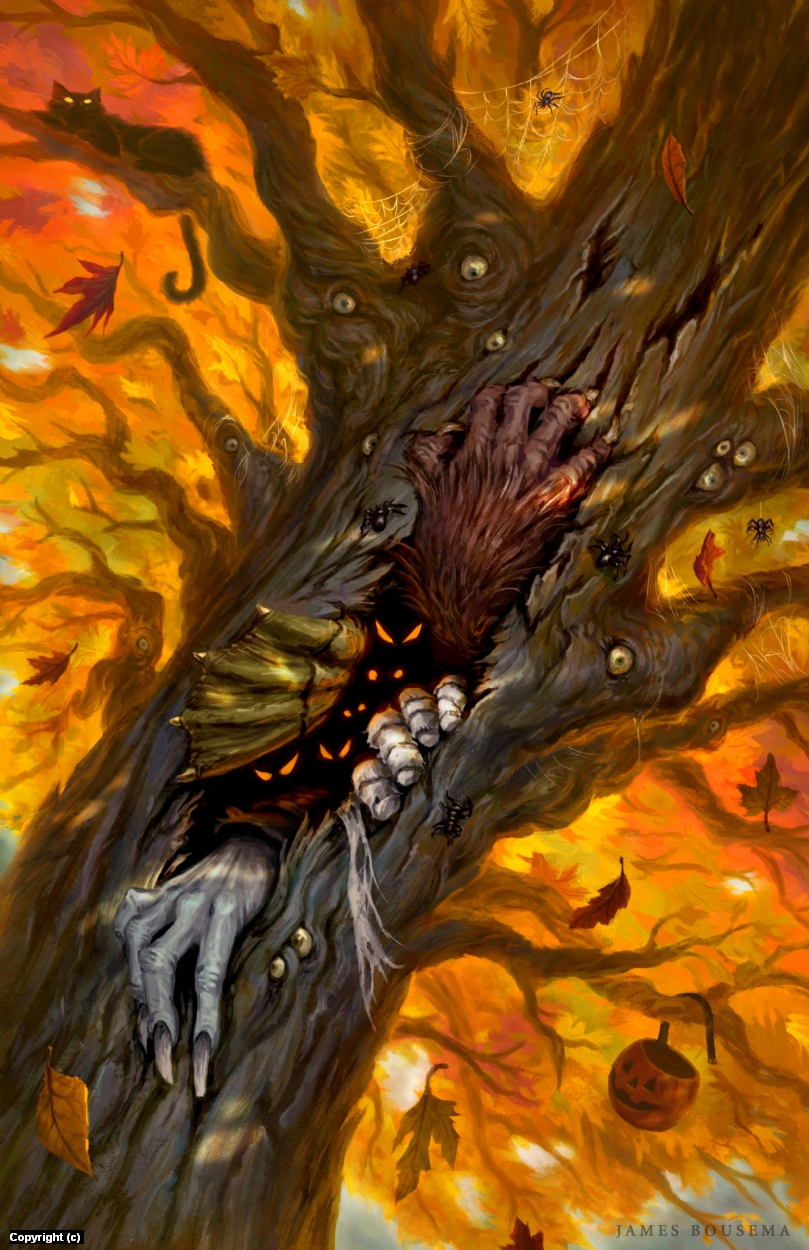 The Hallowed Tree Artwork by James Bousema
