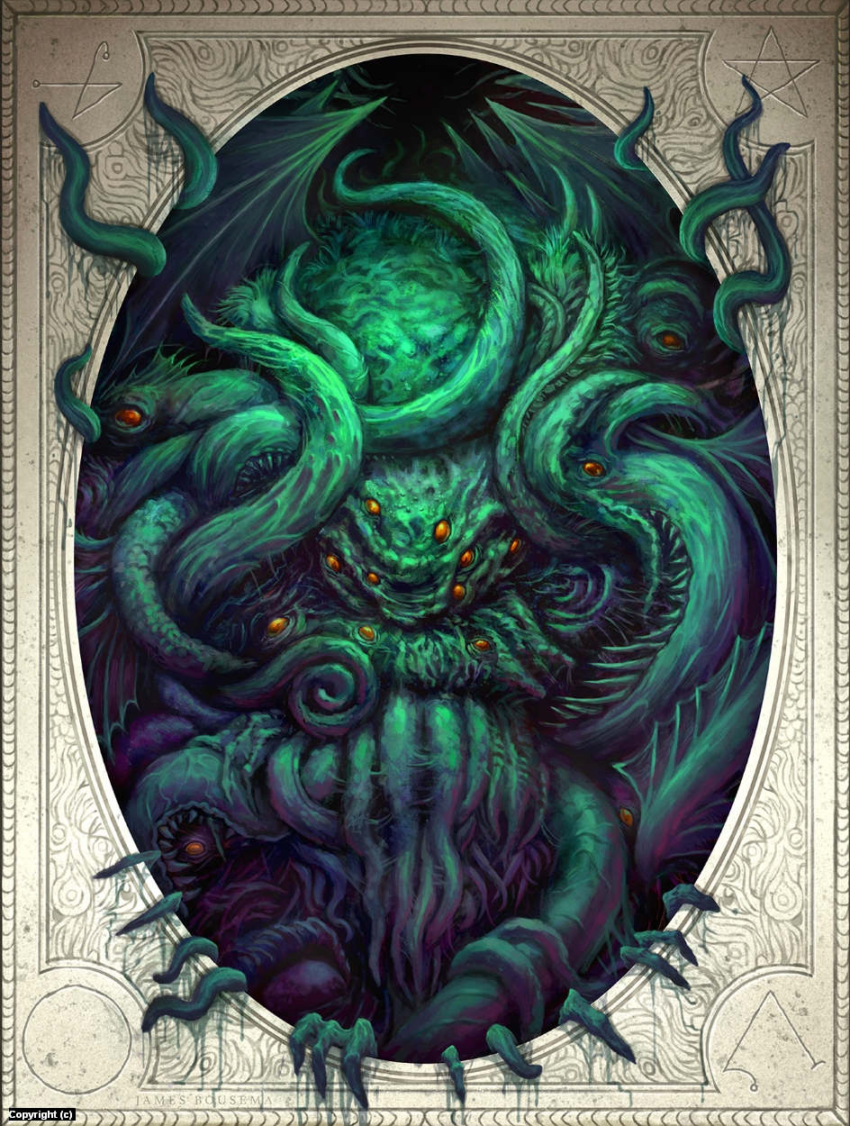 Cthulhu Awakens Artwork by James Bousema
