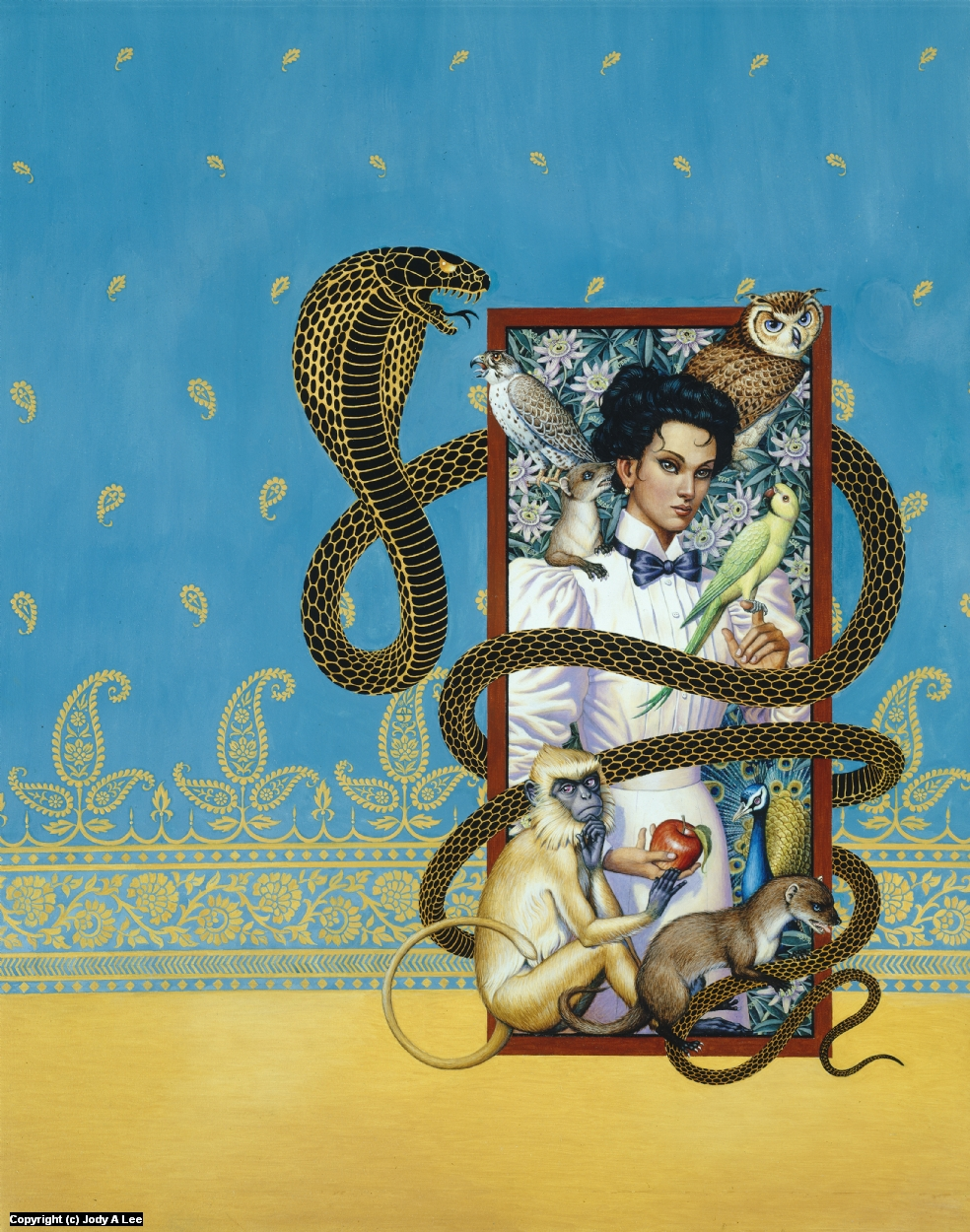 The Serpent's Shadow Artwork by Jody Lee