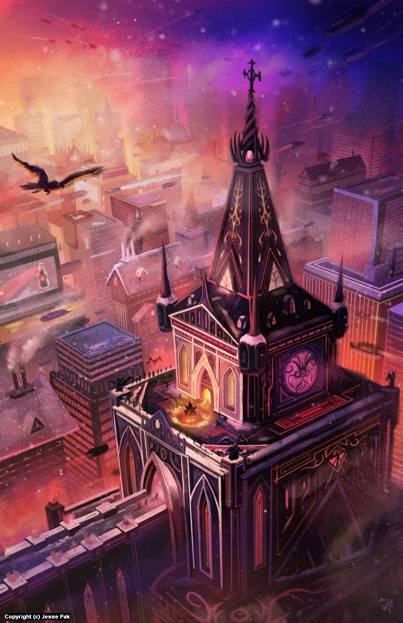 City Ritual Artwork by Jesse Pak