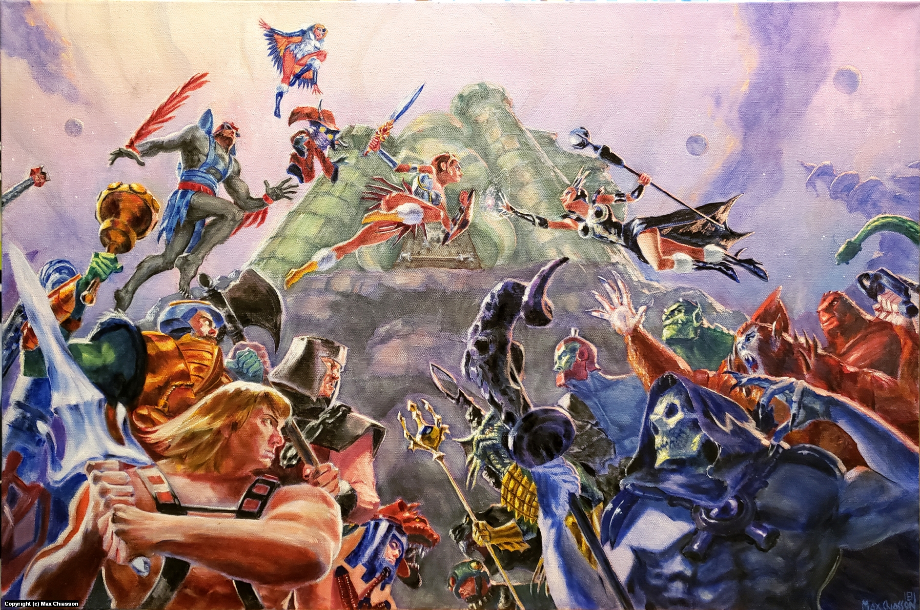 Battle for Eternia Artwork by Max Chiasson
