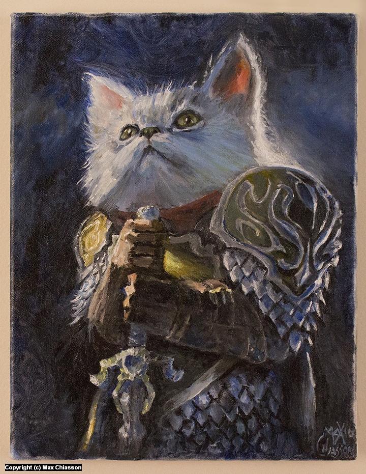 Sir Cuddlesworth Artwork by Max Chiasson